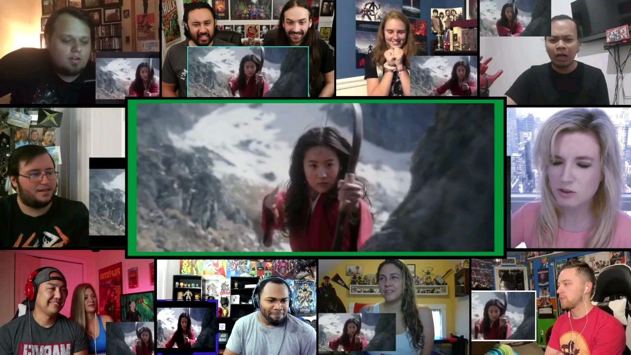不存在网站网友观看《花木兰》刘亦菲版预告片真香反应