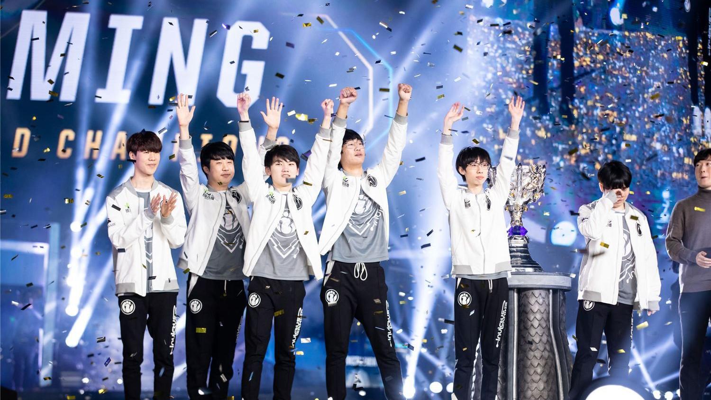 S8全球总决赛 IG永不加班!!(第一场)