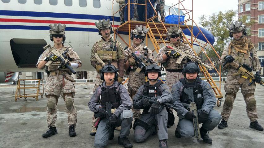 CTRU 反恐特勤队 索降训练 (学校社团活动)