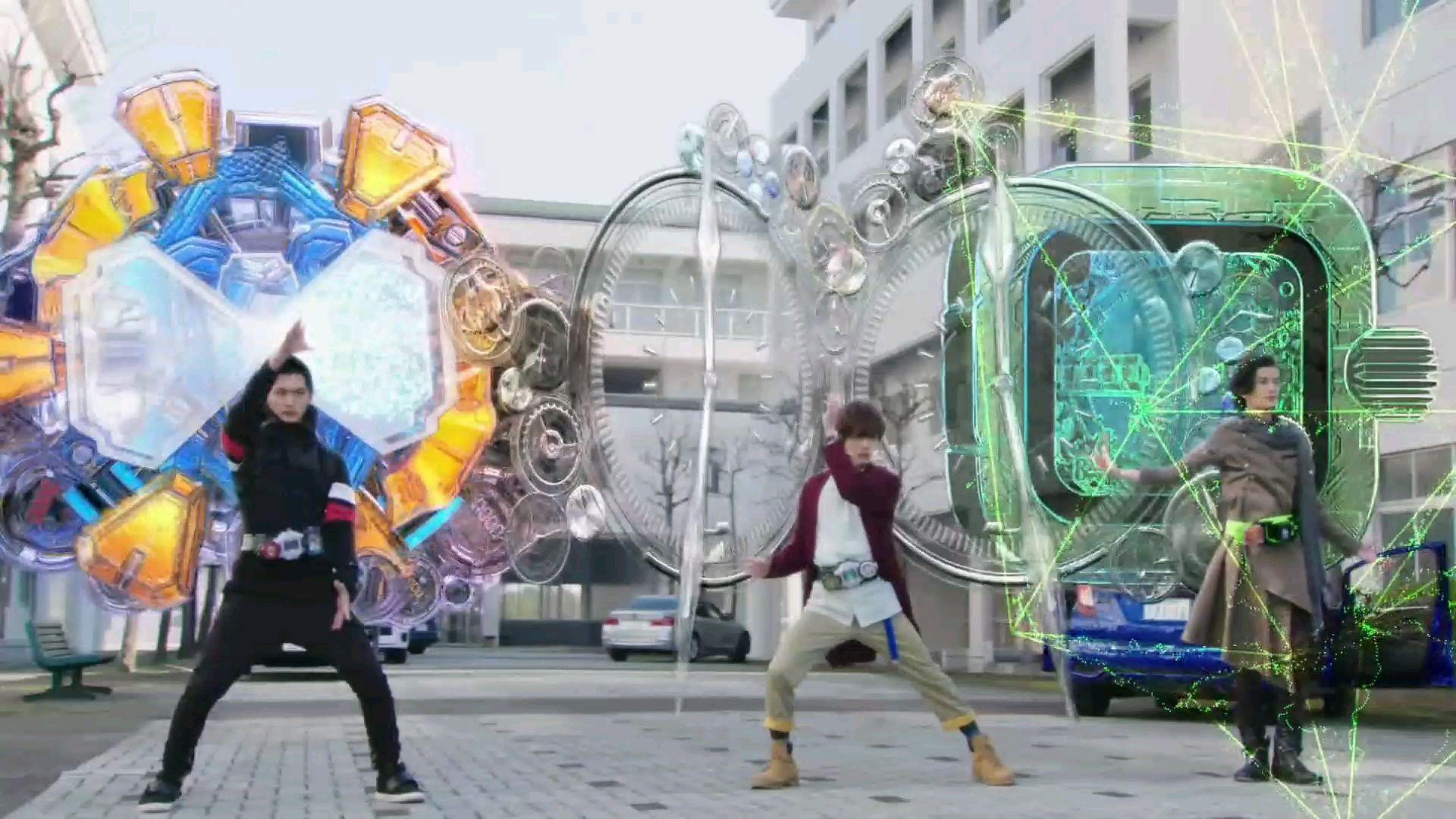 【假面骑士/Zi-O篇】三骑对AR AGITO