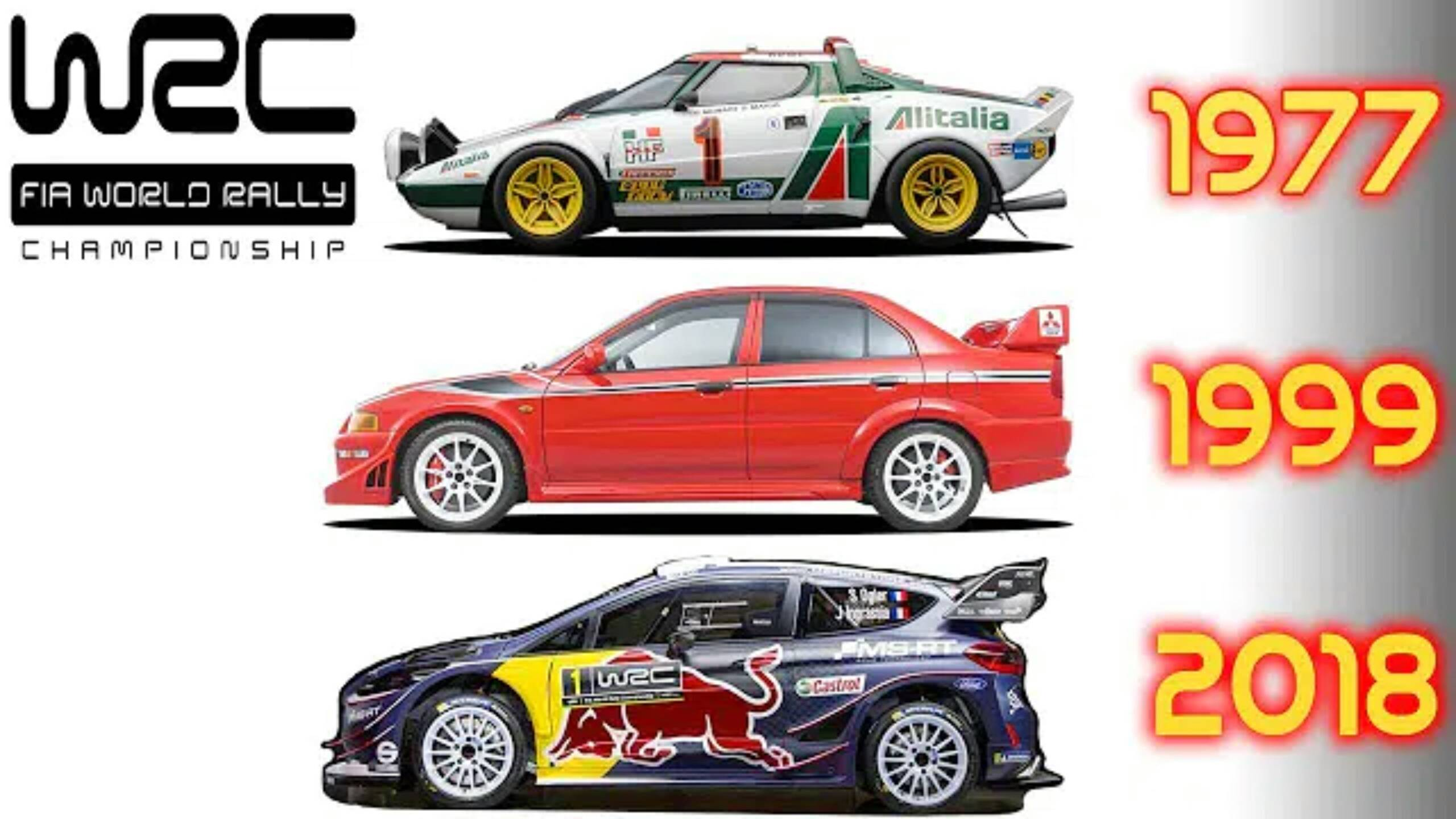 WRC1973-2018冠军