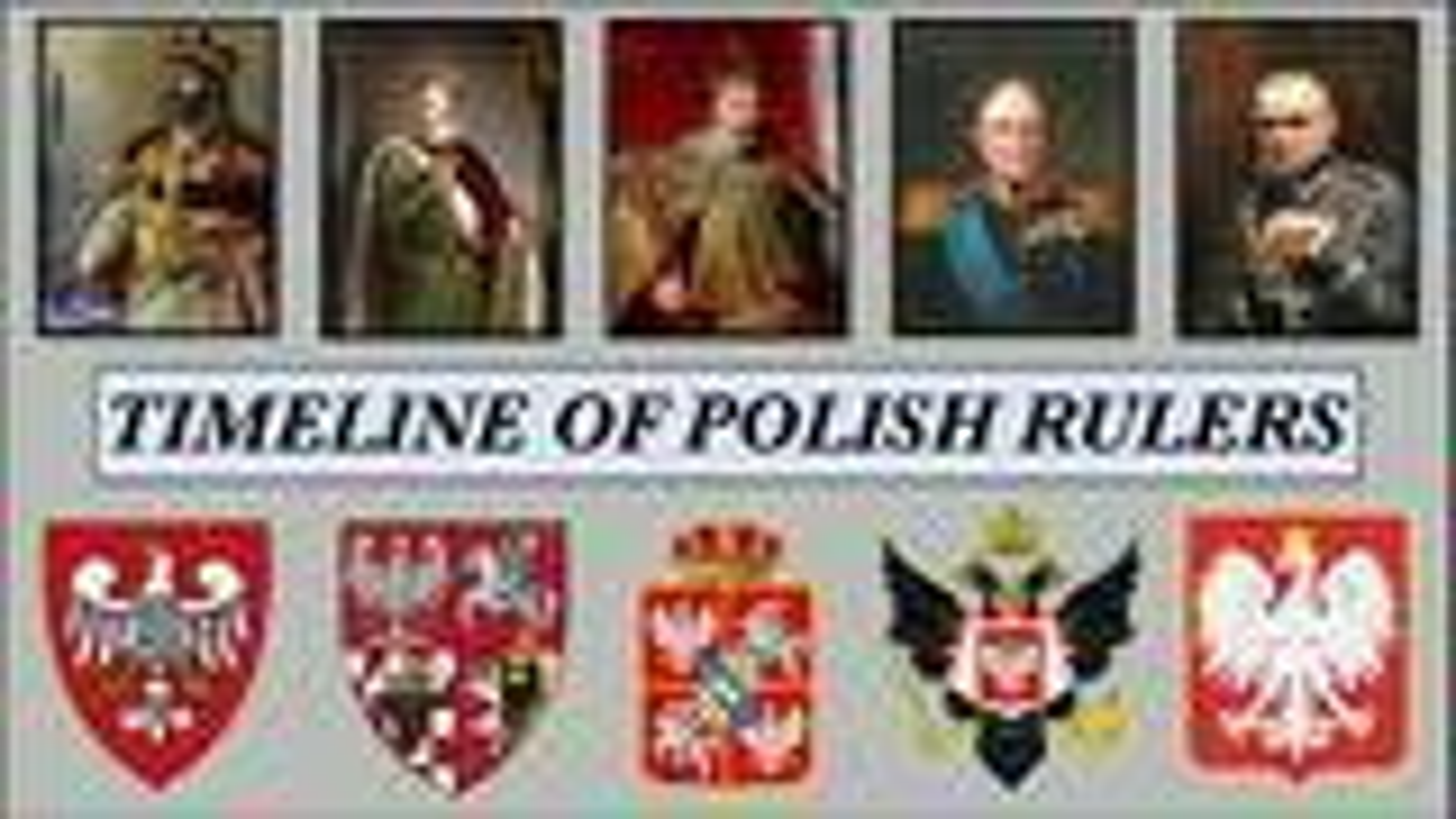 波兰历史君主(领导人)年表