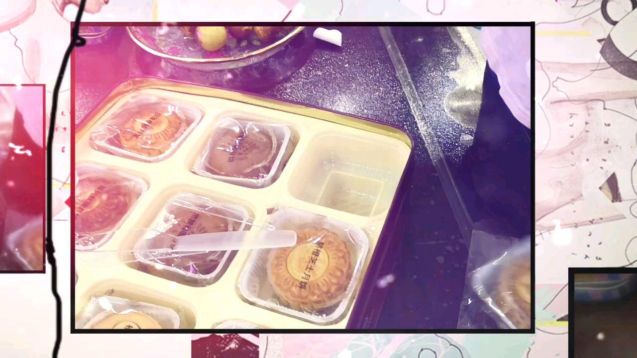 中秋vlog,我家闺女给我们分配月饼,中秋节快乐