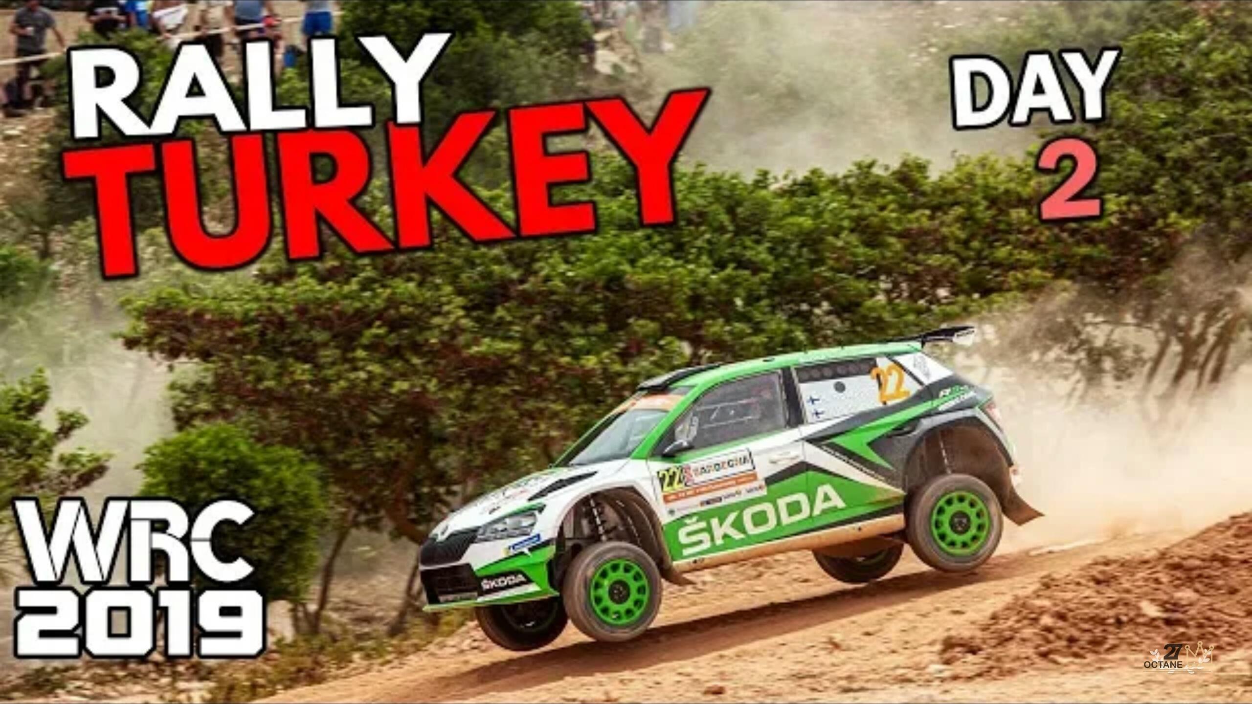 WRC2019-土耳其站#DAY2