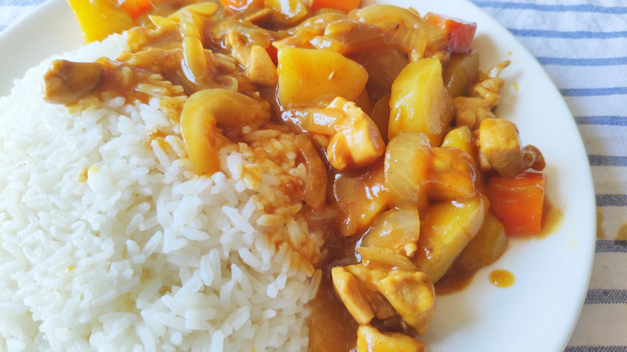 【家常菜系列】日式咖喱鸡腿饭
