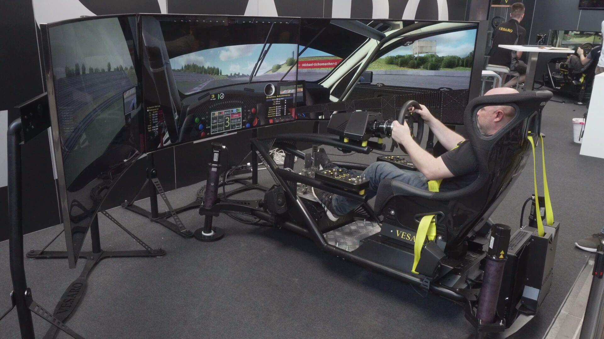 2019 SimRacing Expo 模拟赛车设备博览会