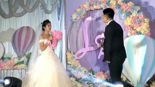 新郎:这婚是不想结了,新娘:不接就不接!
