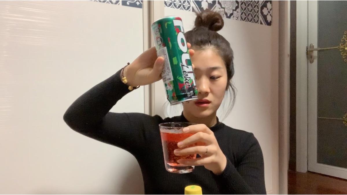 妹子一口气喝完一瓶失身酒fourloke会怎样?