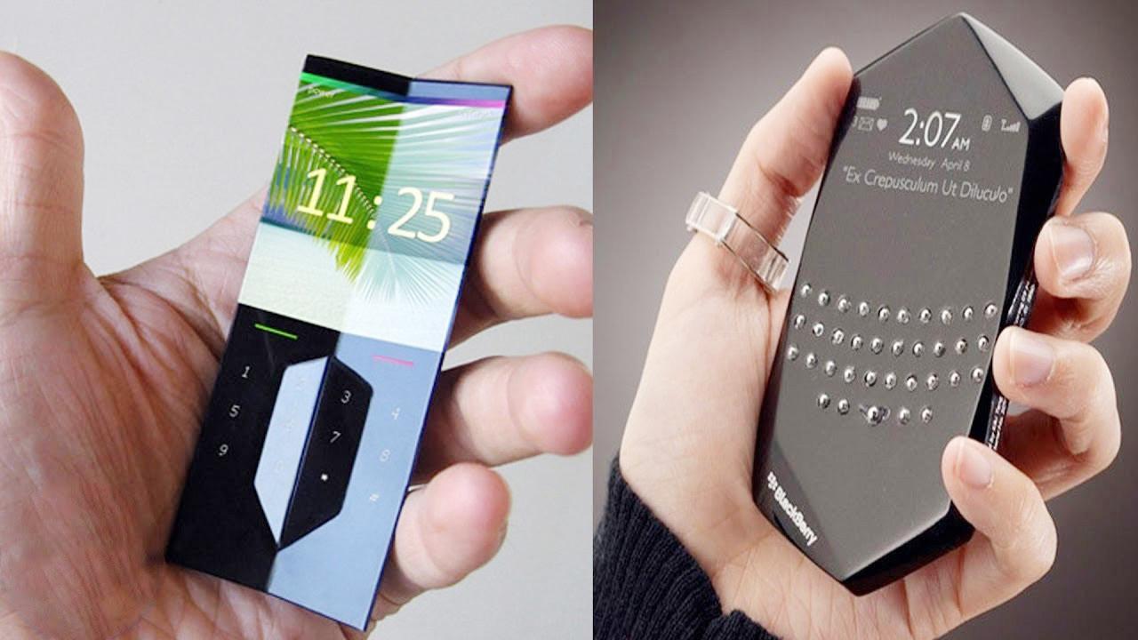 5个最不寻常的智能手机