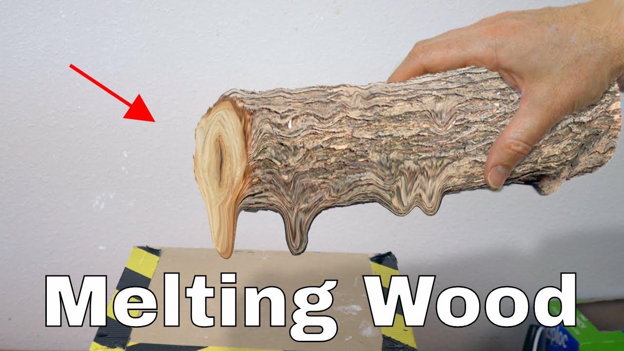 把木头放进真空室里会发生什么?木头会膨胀熔化吗?