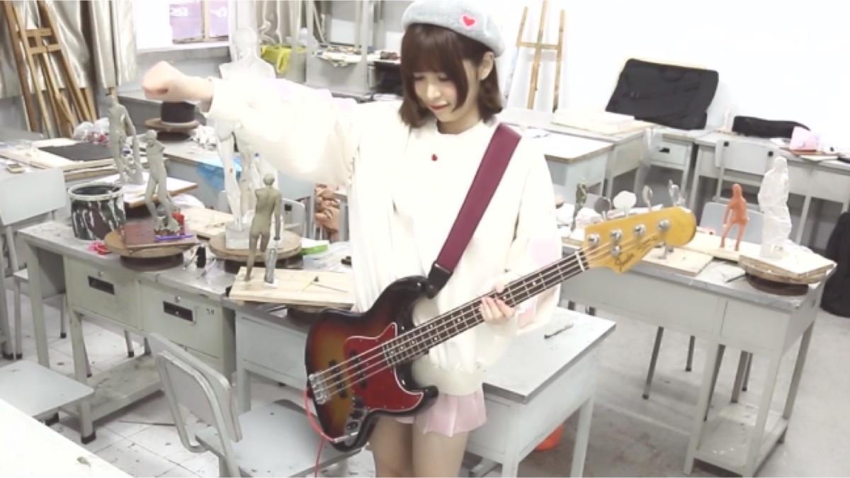 【BASS/贝斯翻奏】干物妹!小埋RED-うまるん体操 bass cover小埋体操