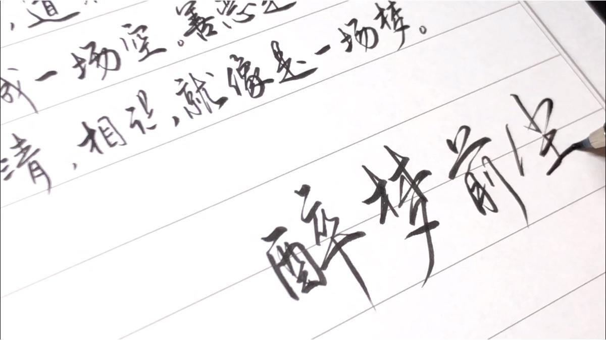 【手写】魔道祖师动画主题曲《醉梦前尘》,道友在哪里