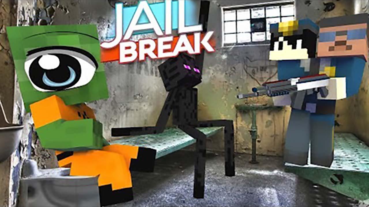 我的世界:另类搞笑版怪物学院,极限越狱挑战!