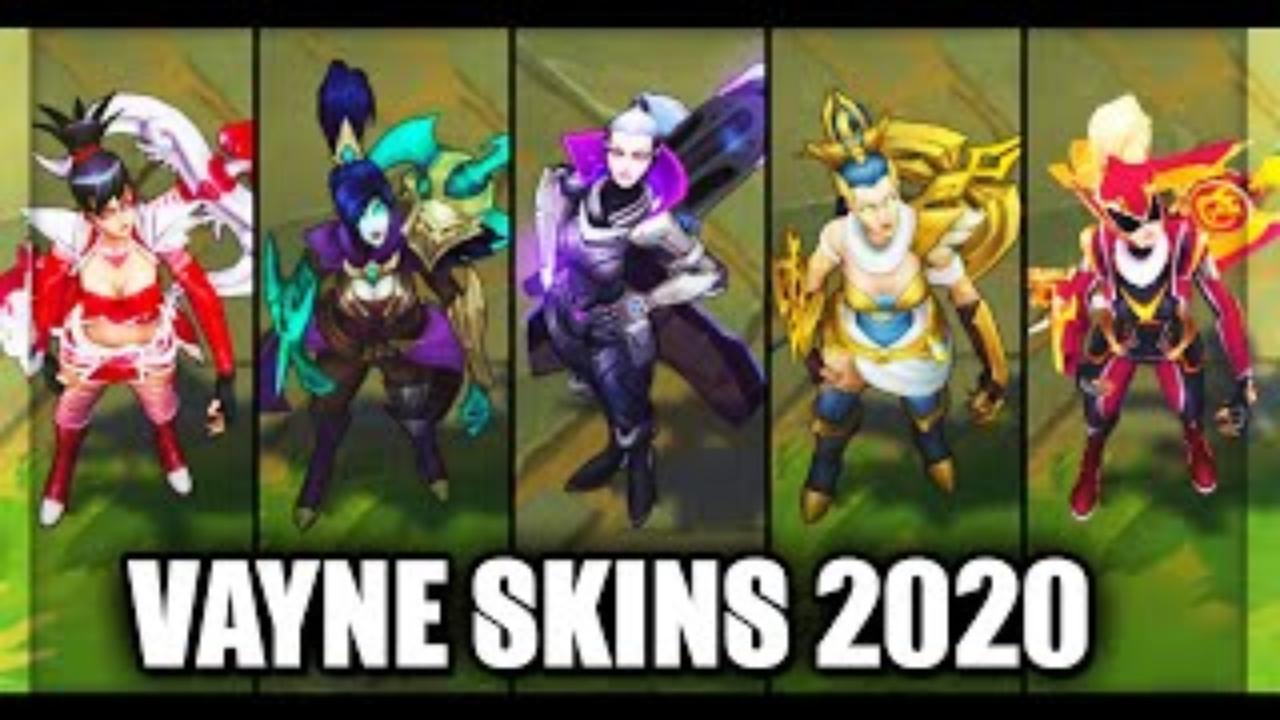 LOL:VN全皮肤展示,两款冠军皮肤你喜欢哪款?