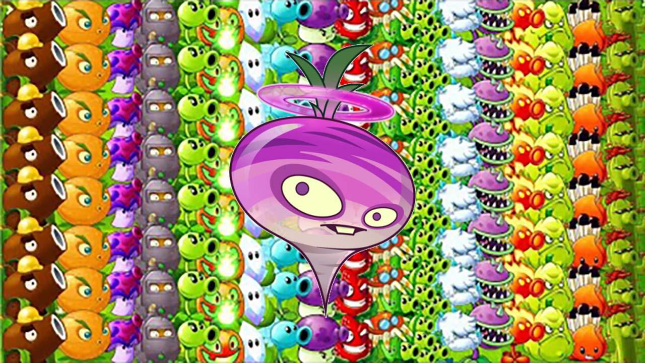 植物大战僵尸:全屏瓷砖萝卜加满级植物,看完可以换手机了