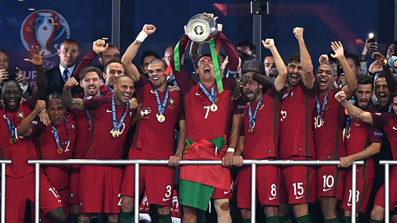2016欧洲杯十佳球(上) 阿扎尔内切爆射 埃德尔制胜进球