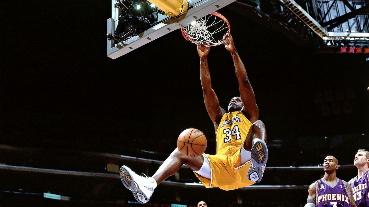 《篮球印象》之奥尼尔 统治联盟十多年 他绝非只会扣篮那么简单