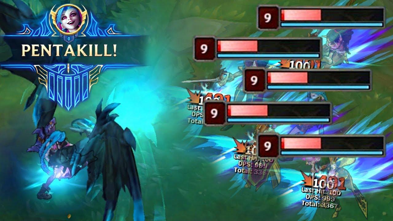 LOL:龙魂下的五杀集锦,果然意味着游戏要结束了