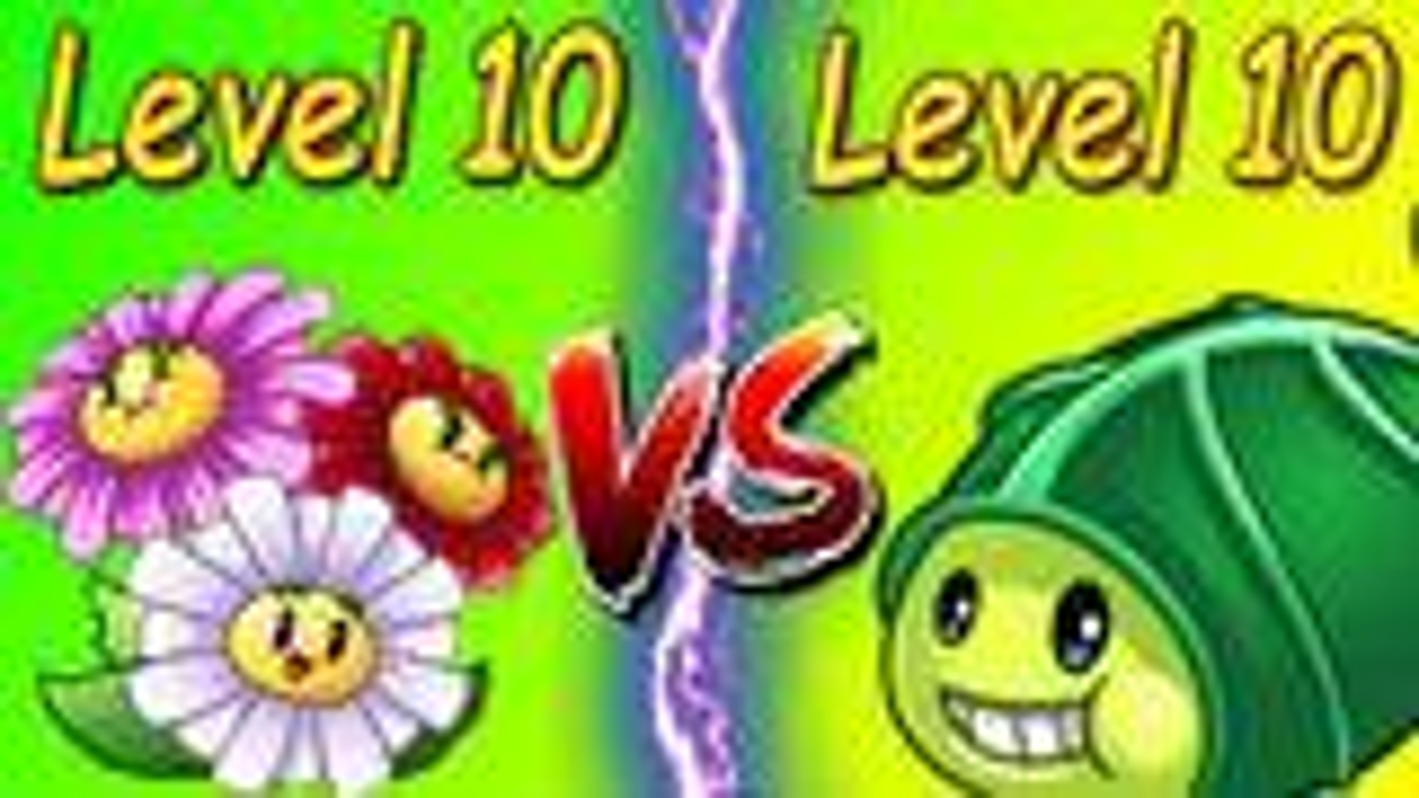 植物大战僵尸:满级眩晕雏菊vs满级丧尸豌豆,哪个植物更强?