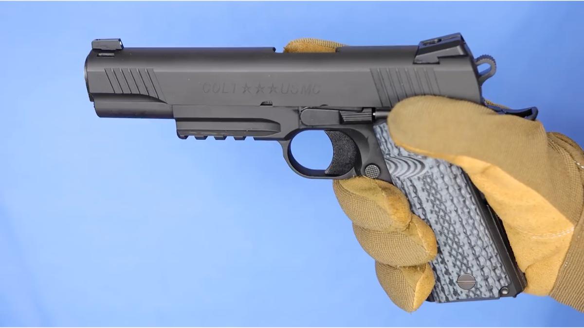 日本壕大叔的气动1911手枪