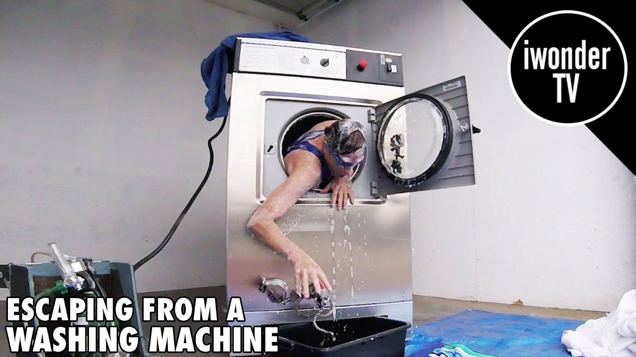 吓傻!把人双手铐起来放进洗衣机里各种蹂躏 结局看呆众人