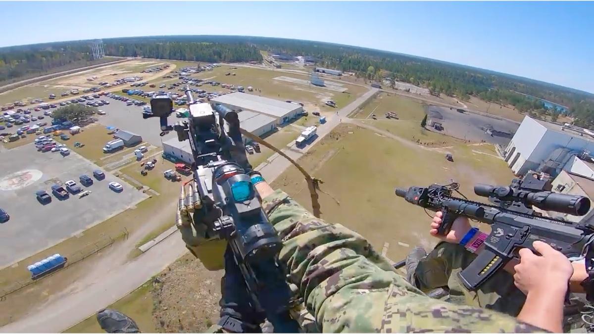 国外军推,这直升机装甲车都整来了。