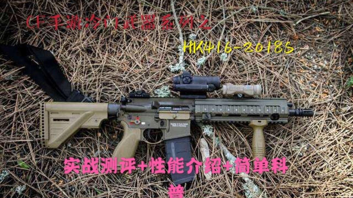 CF冷门武器系列之HK416-2018S:这是一把平民神器