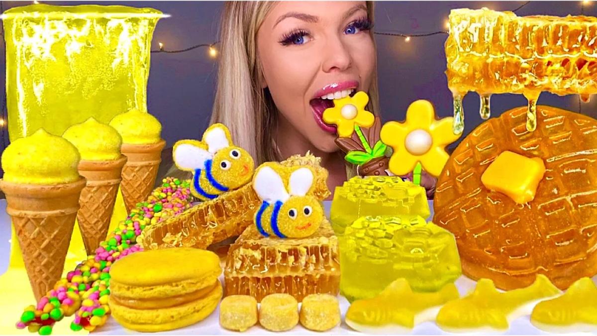 【糖果吃播】蜂蜜糖果,催眠解压。