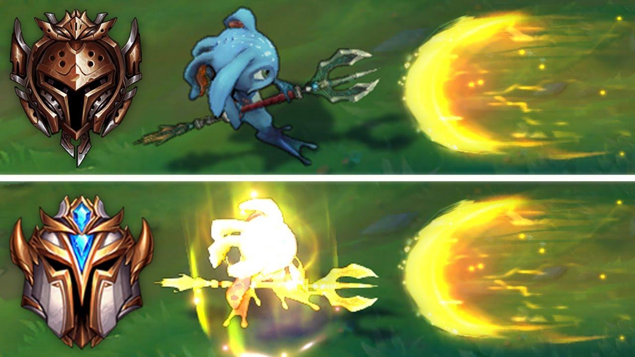 LOL:王者玩家VS青铜玩家,操作都很让人惊讶