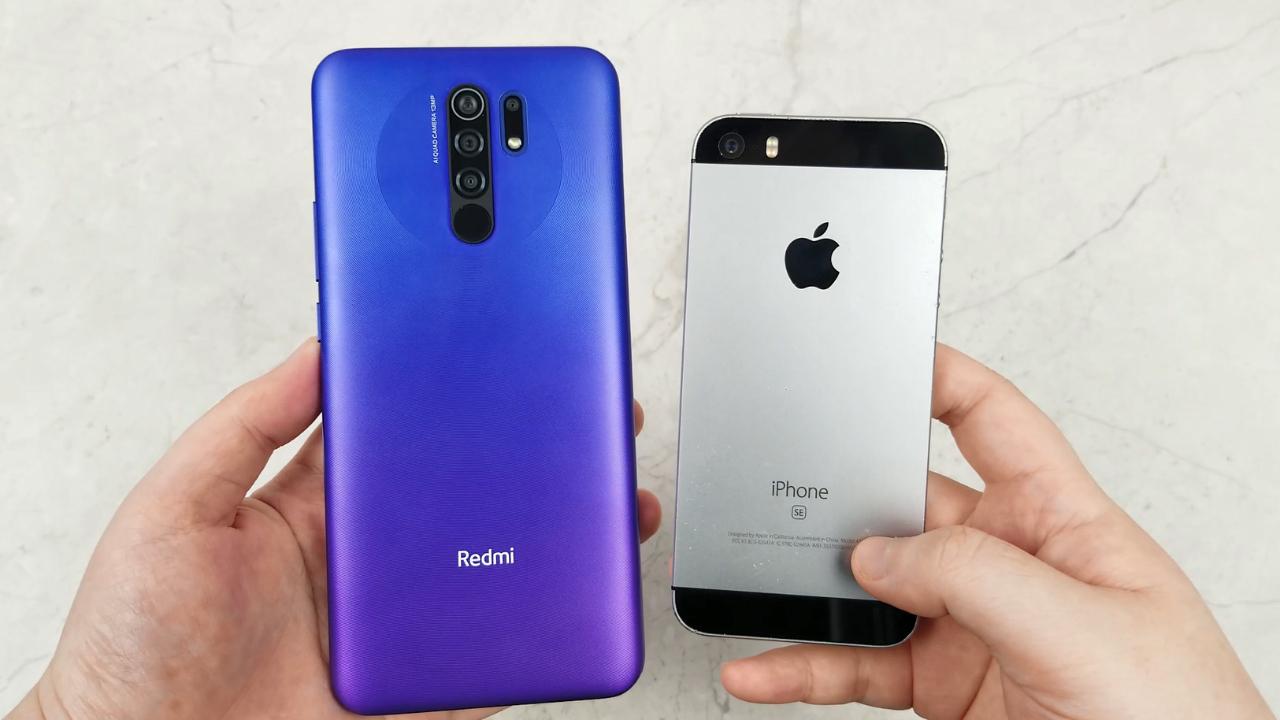 红米9对比iPhoneSE,讲真,这差距我看不懂!