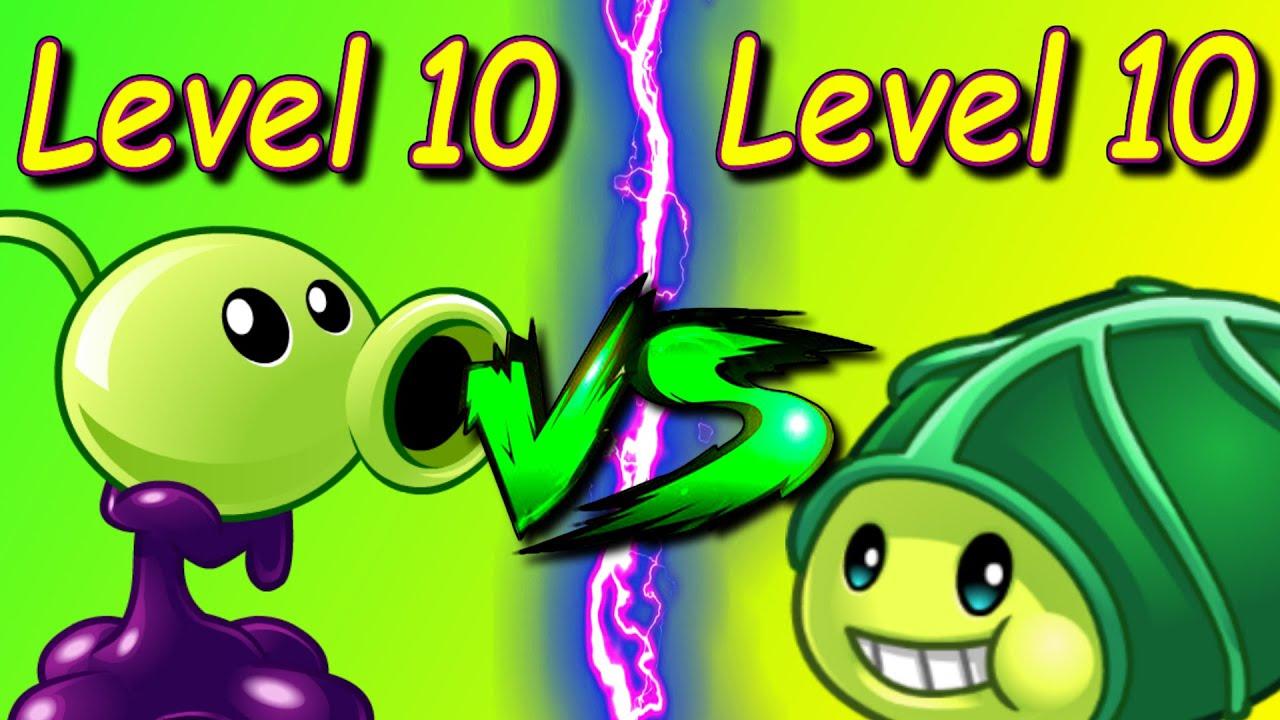 植物大战僵尸:满级重油射手vs满级丧尸豌豆,哪种植物更强?