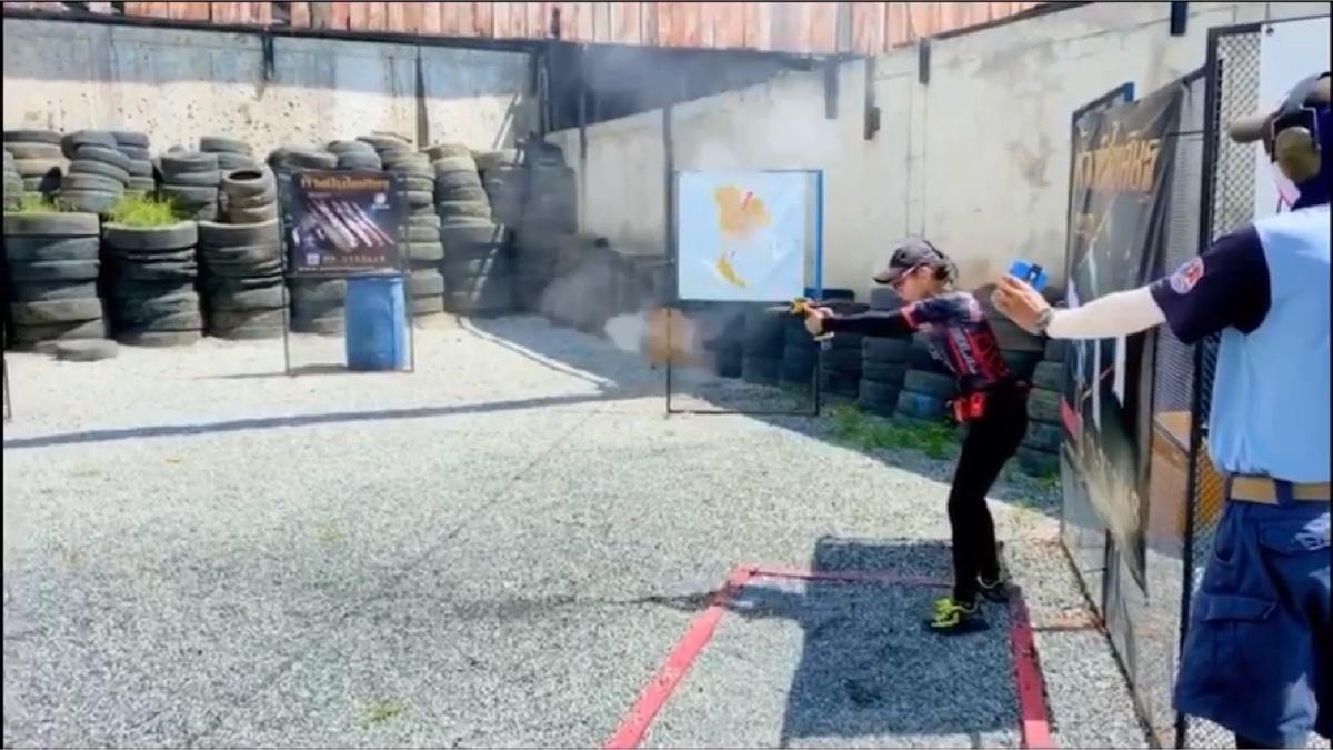 IPSC女射手open组,手枪锦标赛