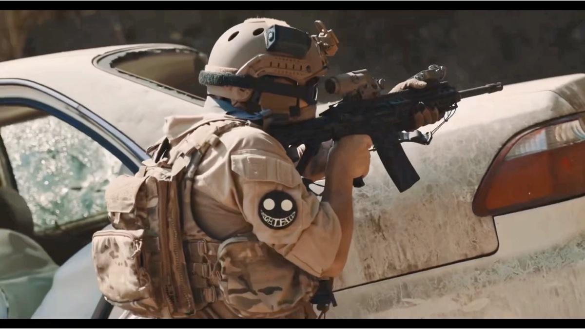 建设出品外贸转管机枪和外贸新步枪宣传片