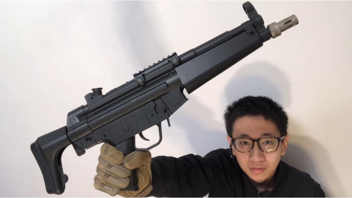 【水弹CS】锦明MP5水弹枪,测评!射击!