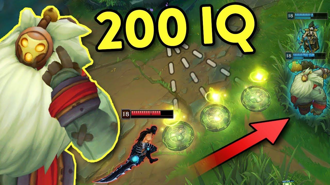 LOL:当IQ超过200的巴德使用大招的时候...