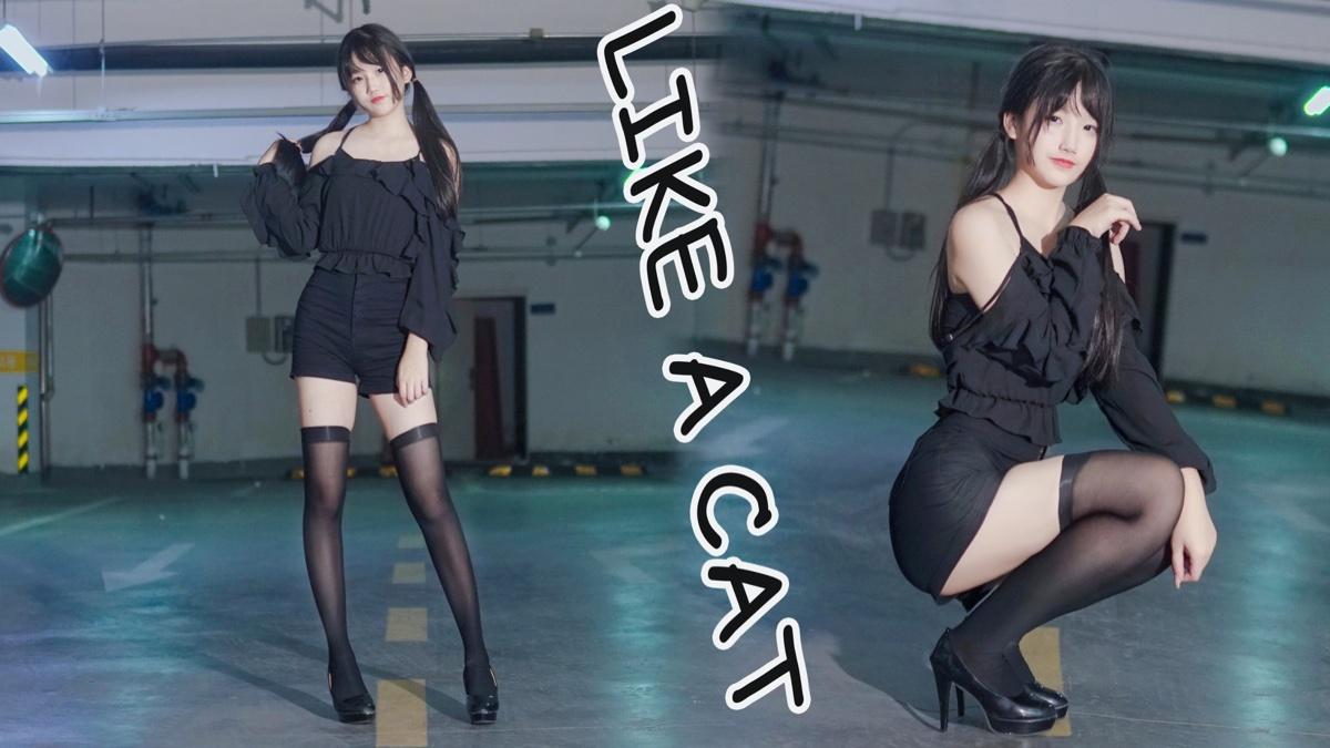 【奈子】地下停车场系列/猫步轻悄-Like A Cat