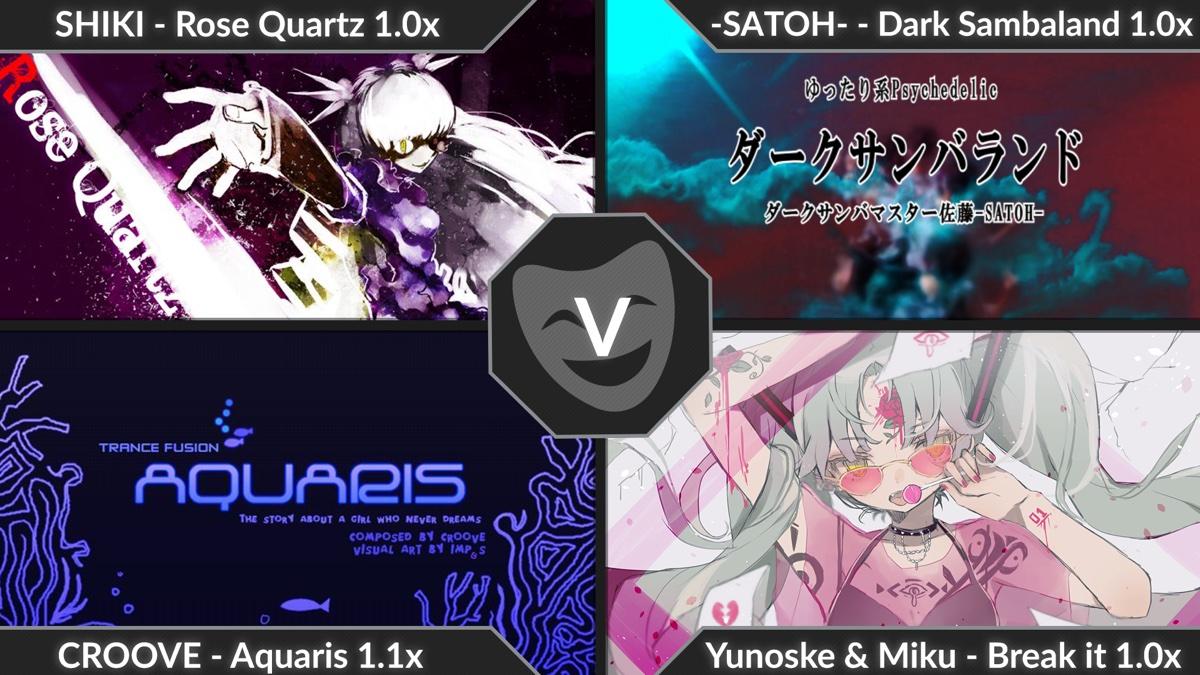 【音游/Malody】《ChoreJack Joker 5Dan》C判ACC97.56%Pass