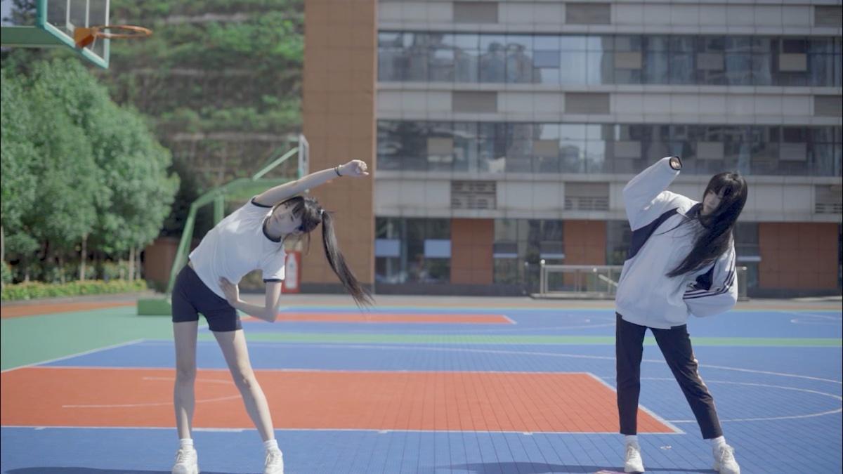【型男兔】第三套中小学生广播体操舞动青春!现在开始!