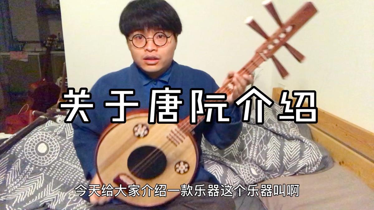 """科普视频【唐阮】简单介绍下""""汉琵琶"""""""