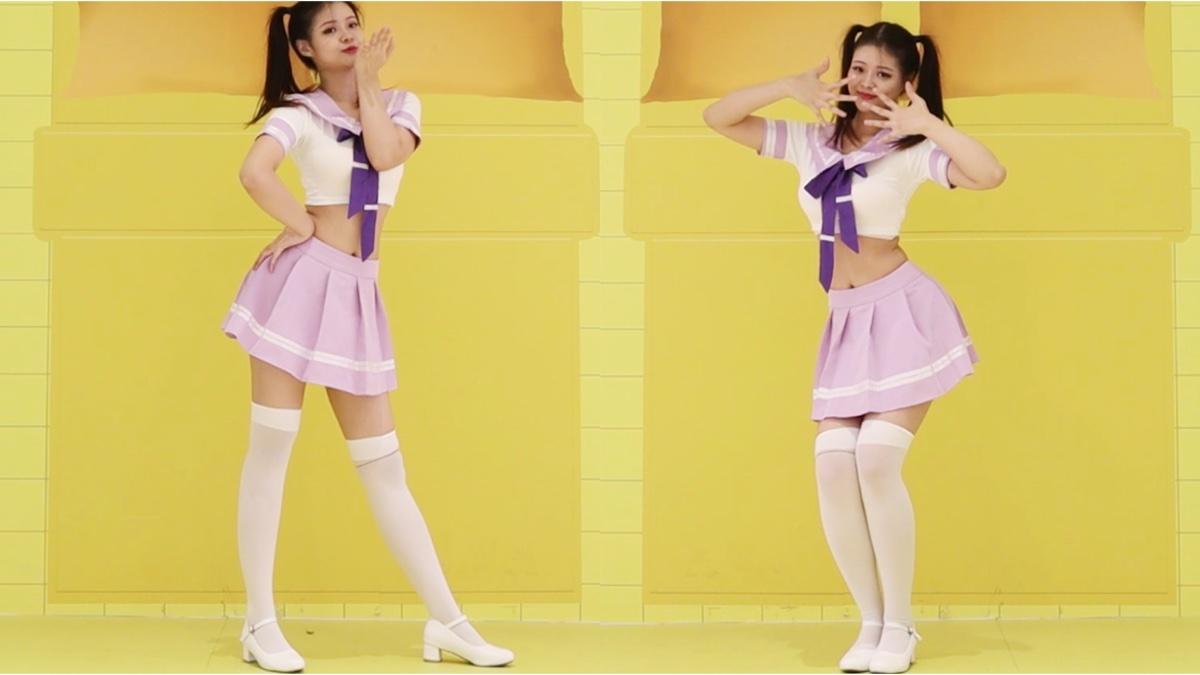 【猫千金】可可爱爱白丝兔子舞 超A新生计划