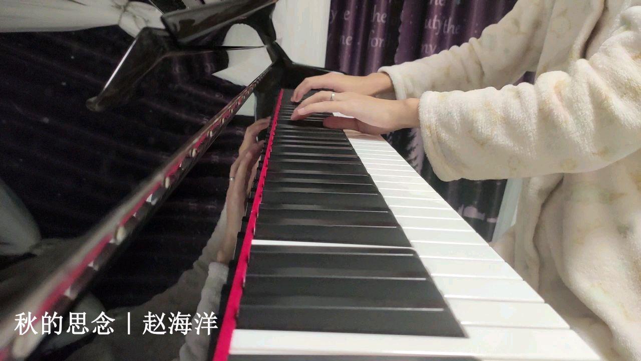 夜色钢琴曲《秋的思念》|赵海洋