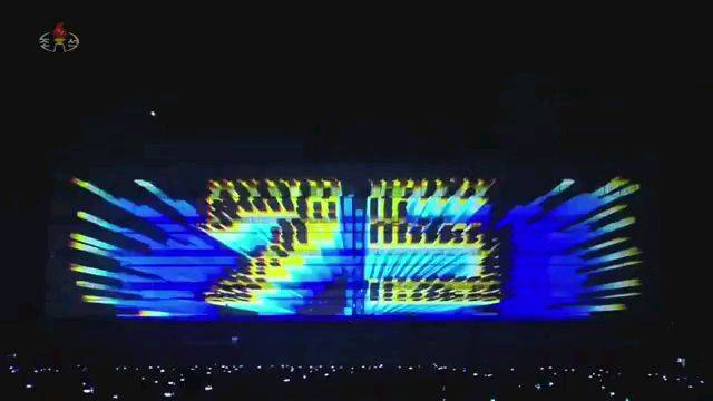 2020年朝鲜照明节庆典