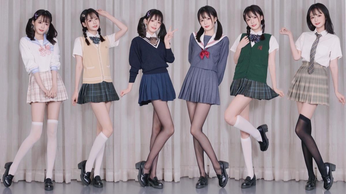 十位JK少女 你喜欢哪一种?