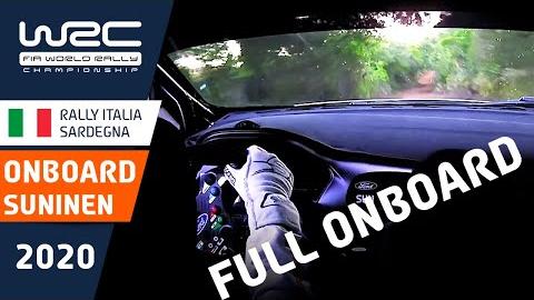 WRC 2020意大利站 车载视角-福特车队