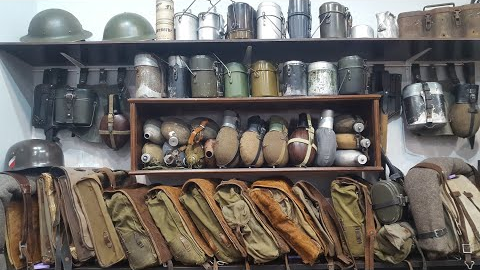 毛子收藏的二战军品