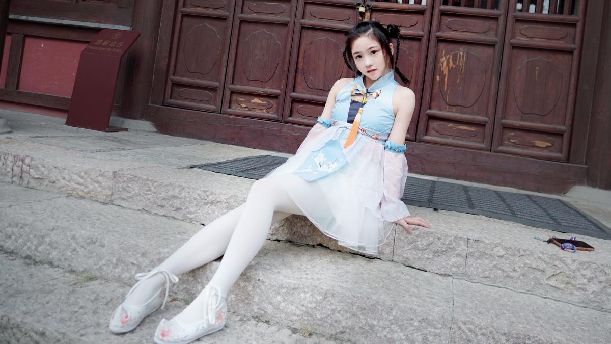 【长安】今日霜降!来看超甜国风少女~