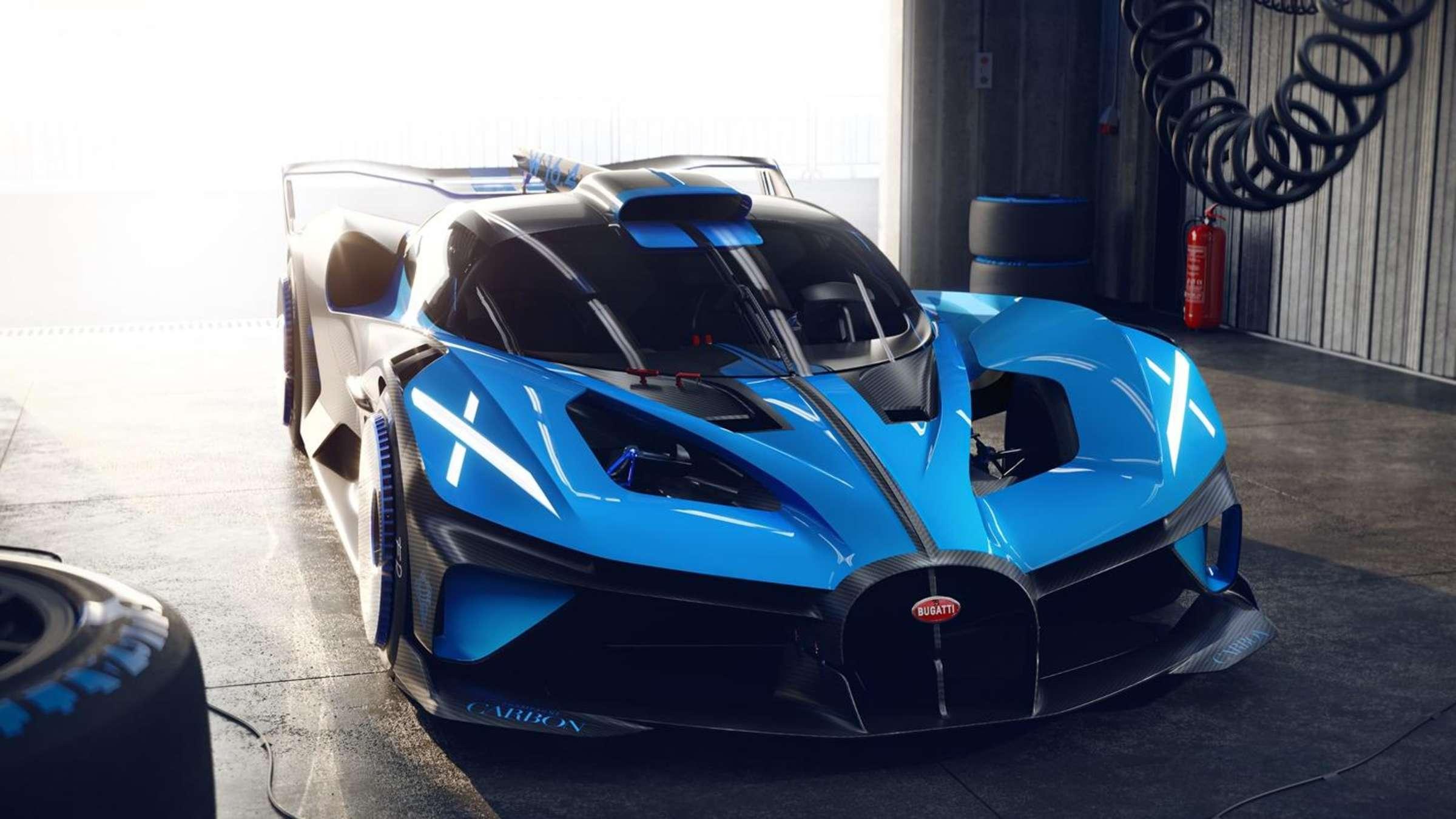 布加迪全新超跑Bolide概念车