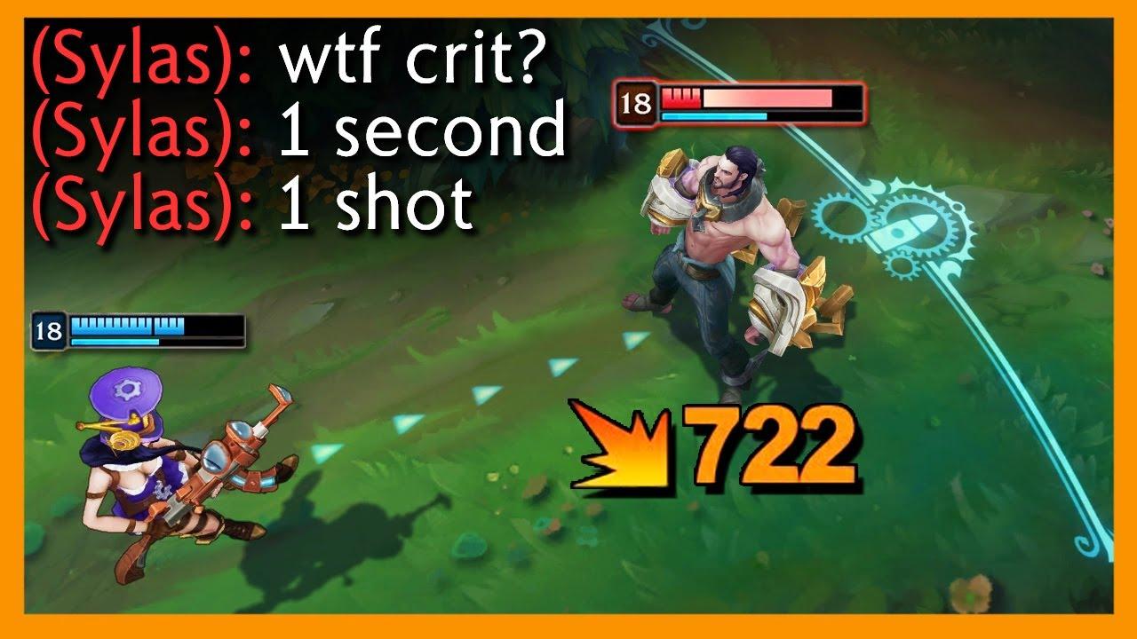 LOL:暴击秒杀时刻,完全不给反抗的机会
