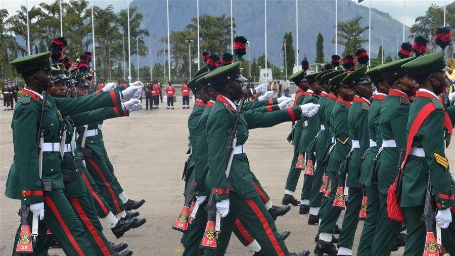 2020年尼日利亚60周年独立日阅兵仪式