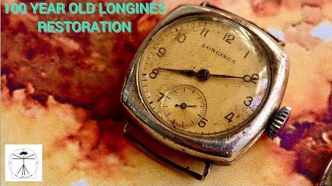 【手表翻新】一百年前的手表-1920年浪琴